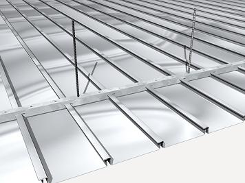Precio en espa a de m de falso techo registrable de lamas met licas generador de precios de la - Falso techo metalico ...